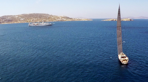 sailing-aegean-video