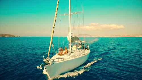 sailing-video-marketing greece